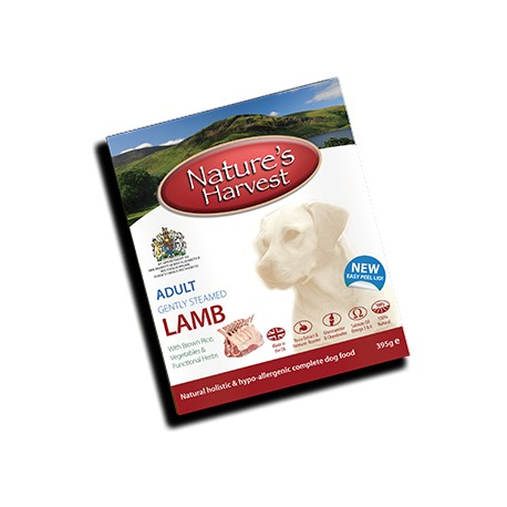 Nature´s Harvest - Lamm & Vollkornreis - 395 g