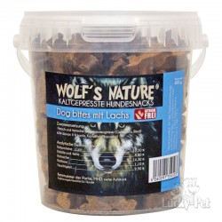 Wolf´s Nature - Dog Bites mit Lachs - 400 g